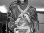 Photo of a cross-chest type diving harness