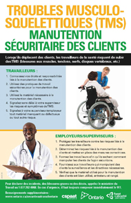 manutention sécuritaire des clients