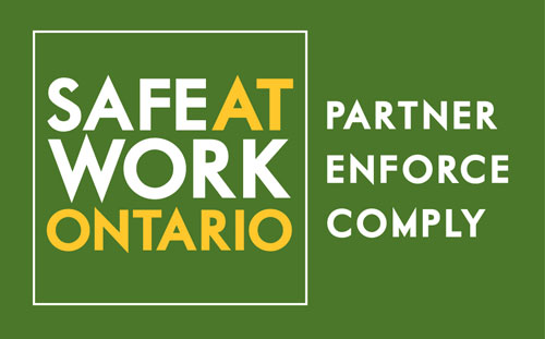 Safe At Work Ontario: Partner, Enforce, Comply