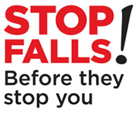 When you see this symbol, stop and think about the role everyone has to play in preventing falls from heights and keeping workplaces healthy and safe.