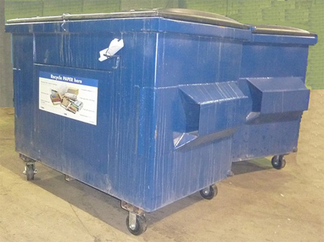 Picture of Waste Disposal Container.